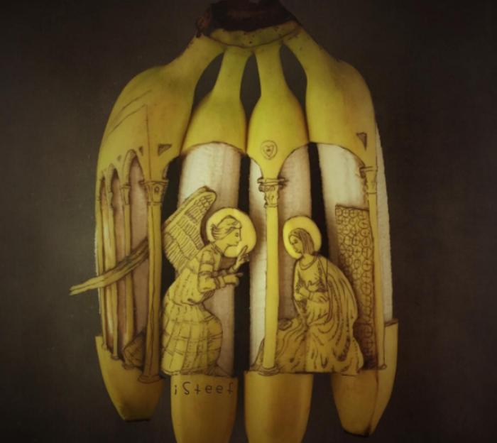 banana artist