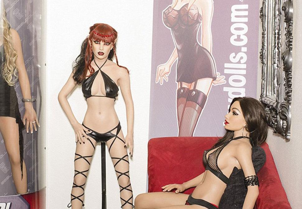 Производство секс кукол в калифорнии