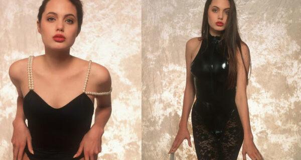Редкие кадры из фотосессии 16-летней Анджелины Джоли в нижнем белье