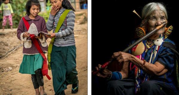 Девушкам народа чин делают уродующие тату на лице, чтобы их не похитили
