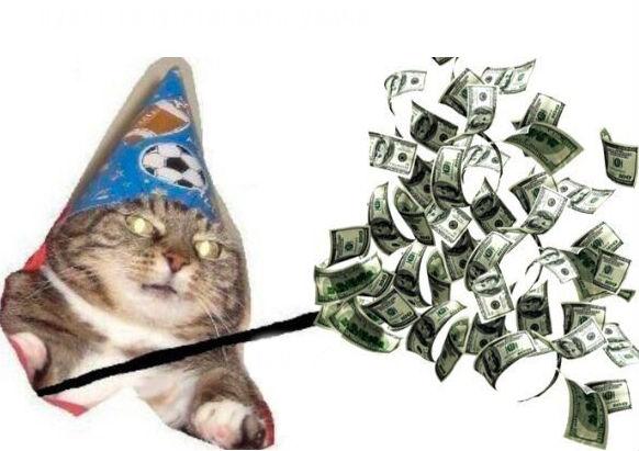 Вжух, и вы смотрите подборку картинок про кота-волшебника фото