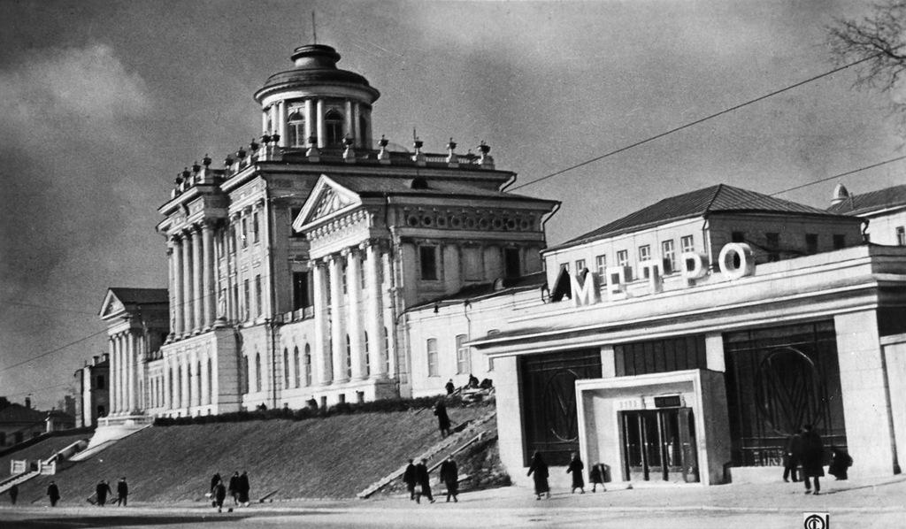 0 14dab5 895d22fa XXL - Как выглядели первые станции московского метро в год их открытия