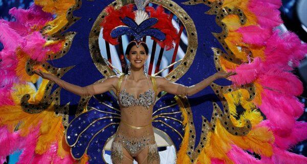 Участницы конкурса «Мисс Вселенная — 2016» показали свои версии национальных костюмов