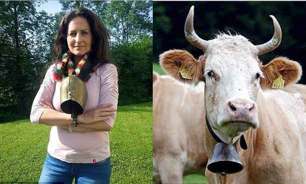 Активистке-вегану отказали в швейцарском гражданстве из-за борьбы с колокольчиками у коров