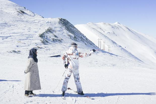 Ношенные, секс на лыжных курортах
