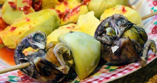 Экзотические деликатесы, которые сложно съесть, не зажмурившись