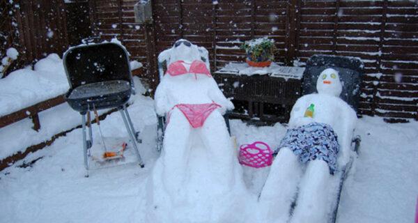 Как слепить самого крутого снеговика, чтобы вся улица вам завидовала