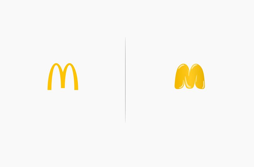logos affected by their products funny rebranding marco schembri 15  880 - Как бы выглядели логотипы брендов, если бы они соответствовали своей продукции