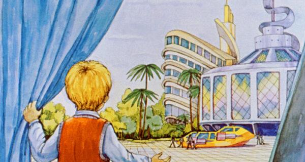 Диафильм 1982 года к повести Кира Булычева «100 лет тому вперед. Коля в будущем»