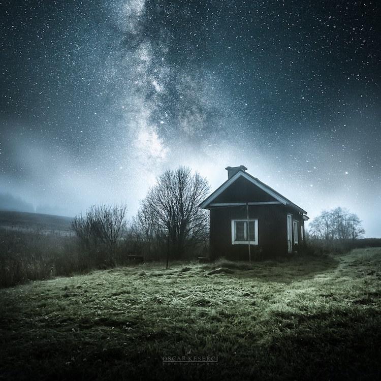 сияющее небо фото