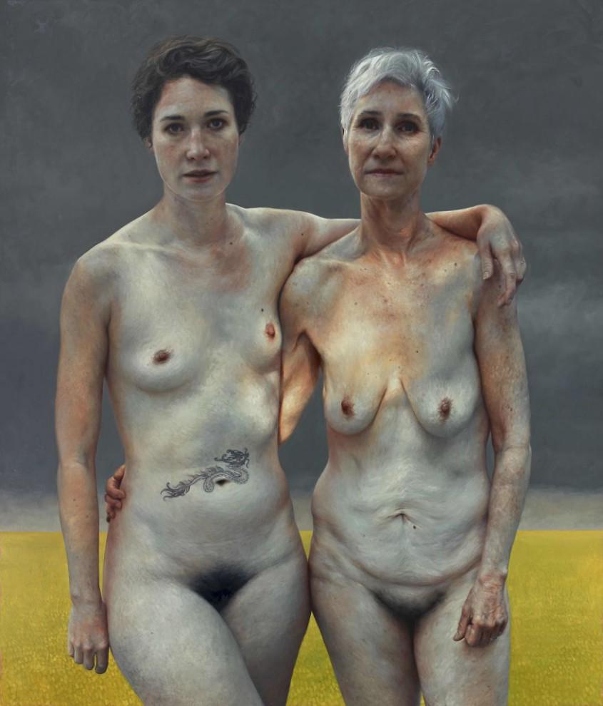 фото галереи обнаженных старых дев им