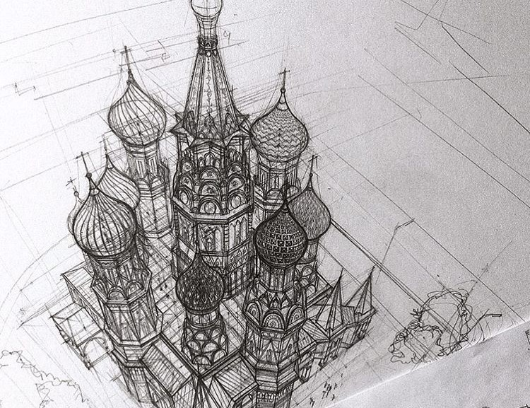 Студентке-архитектору из Казани не нужна даже линейка, чтобы рисовать проекты