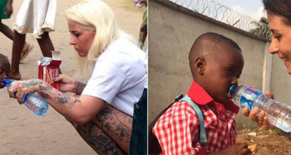 Спасенный от смерти на улице нигерийский мальчик-«колдун» пошел вшколу
