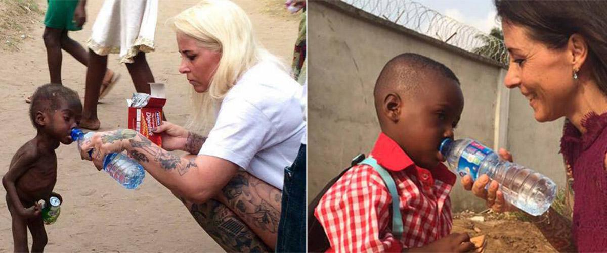 Спасенный от смерти на улице нигерийский мальчик — «колдун» пошел в школу