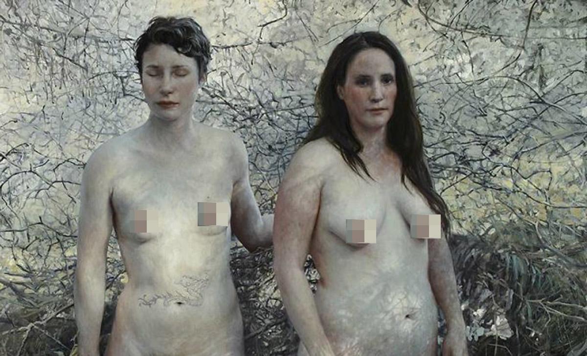 Красота несовершенства: гиперреалистичные портреты обнаженных людей от художницы Алии Чапин