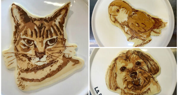 Вот это оладушки! Мимимишные шедевры японского шеф-повара