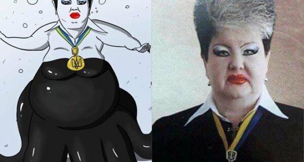 Судья из Украины взорвала интернет своим макияжем, но на этом история не заканчивается
