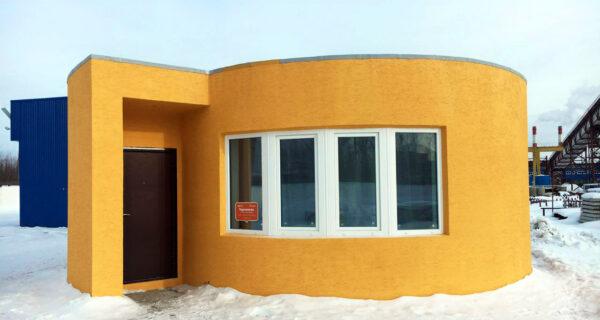 Российская компания построила жилой дом с помощью 3D-принтера за 24часа