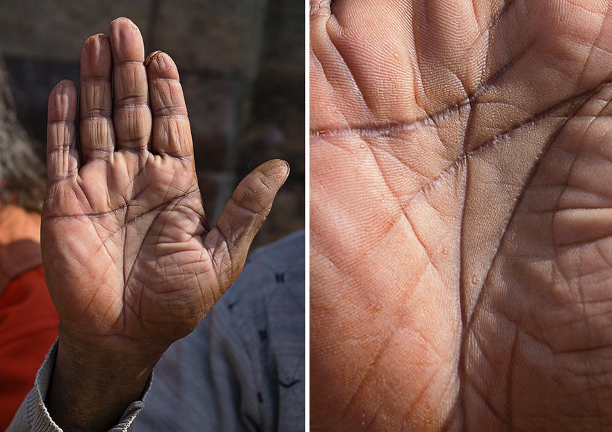 О чем могут рассказать руки человека. Фотопроект Омара Реды