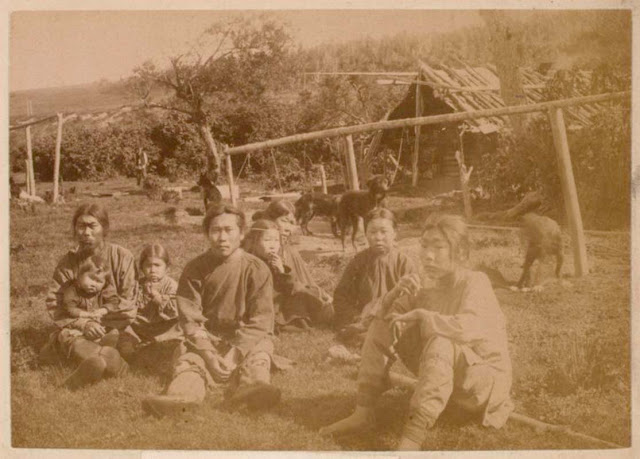 Редкие фотографии повседневной жизни наСахалине конца XIX— началаXX века