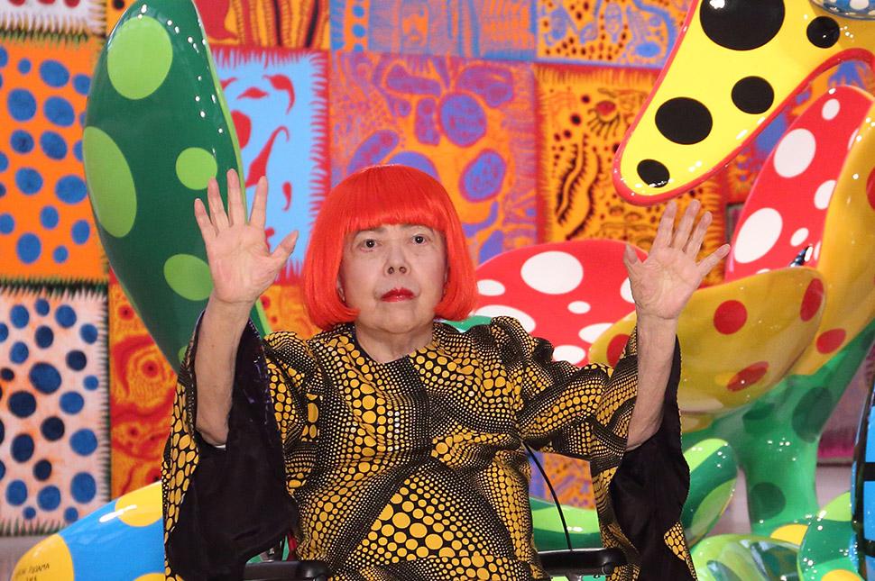 Обитательница психлечебницы из Японии — самая дорогая из ныне живущих художниц