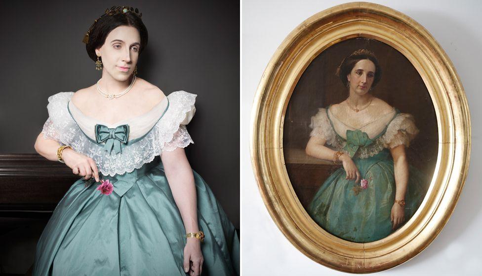 Парики, корсеты, эполеты: перуанец воссоздал портреты своих предков-аристократов