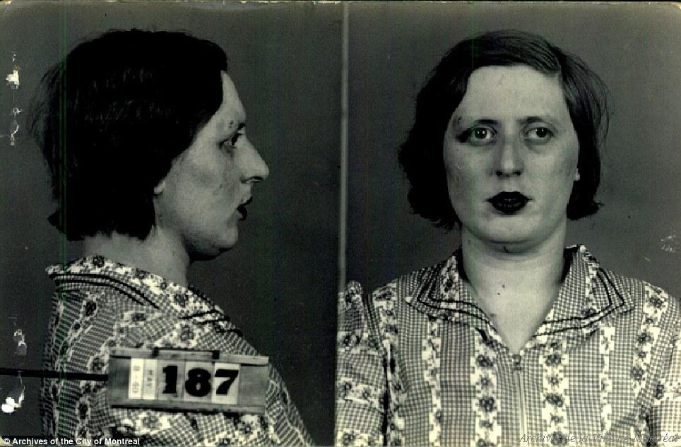 849 - Как выглядели канадские проститутки 1940-х годов
