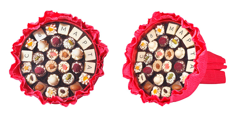Подарки из шоколада вологда 11