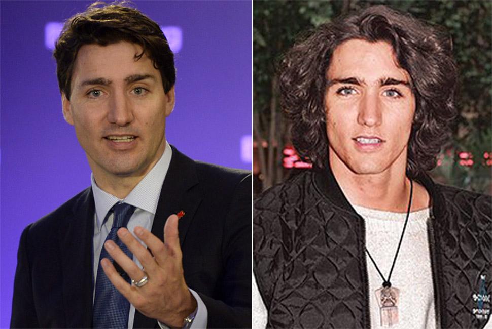 В Канаду надо: премьер Джастин Трюдо в юности был еще горячее