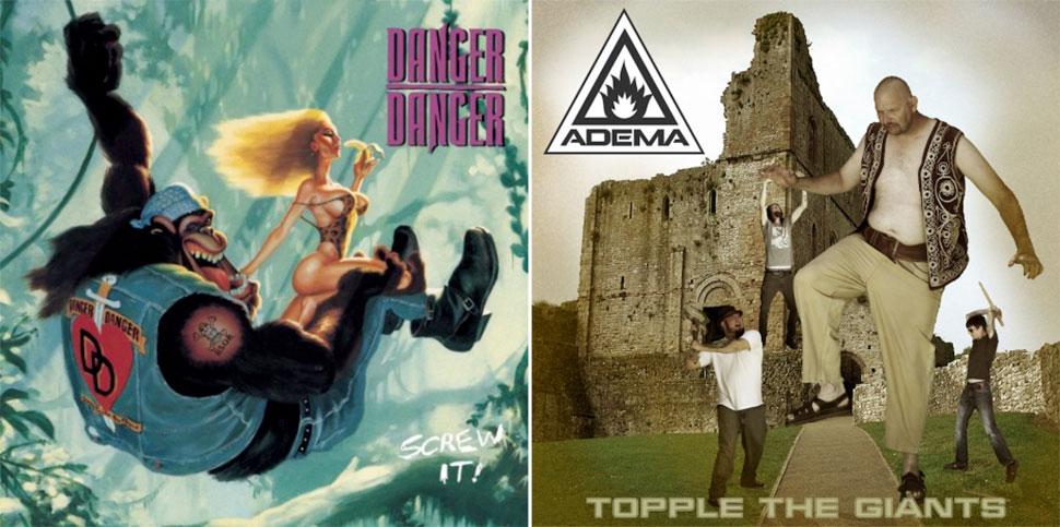 Брутальный хэви-метал и его трешовые обложки альбомов