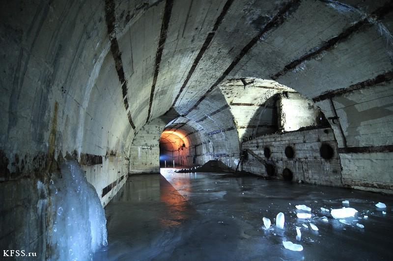 укрытия к немецких подводных лодок