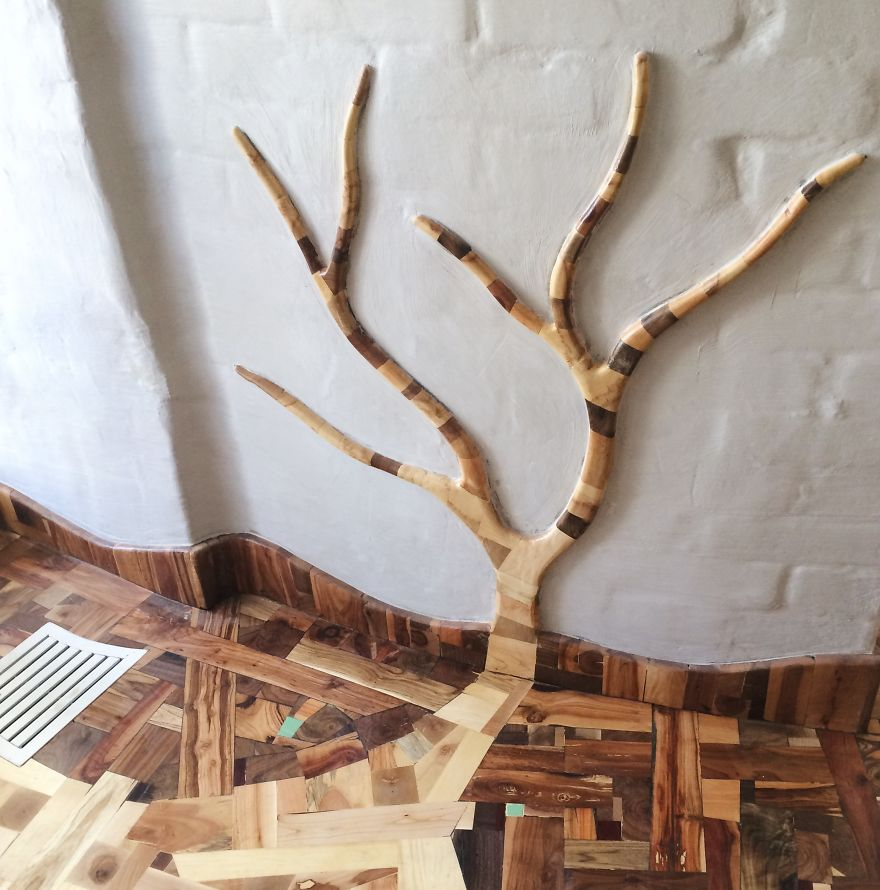 Поделки из остатков дерева 49