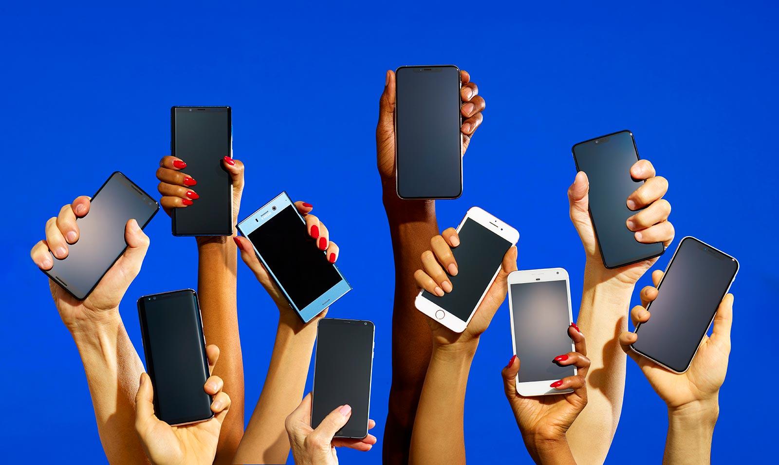 телефон на выбор с картинками многоточия, нужно