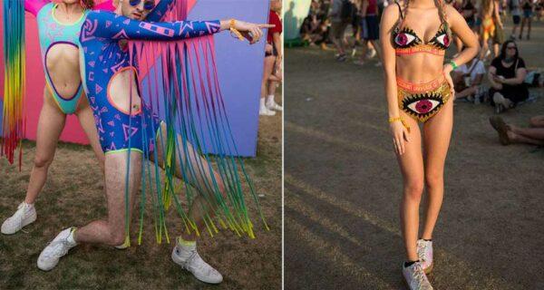 Король-то голый: безумные наряды гостей фестиваля «Коачелла-2017»
