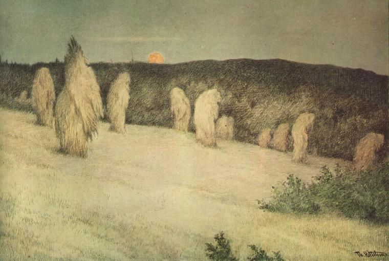 История Теодора Киттельсена, самого загадочного и мрачного художника Норвегии История