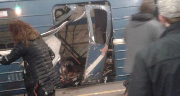 Взрыв в метро в Санкт-Петербурге. Прямая трансляция