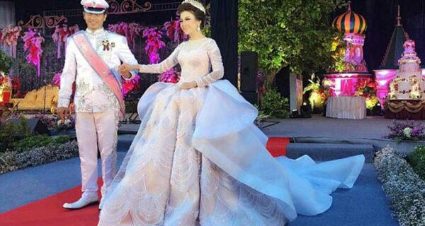 Сказочное платье невесты из Индонезии стало самым «залайканным» в Instagram