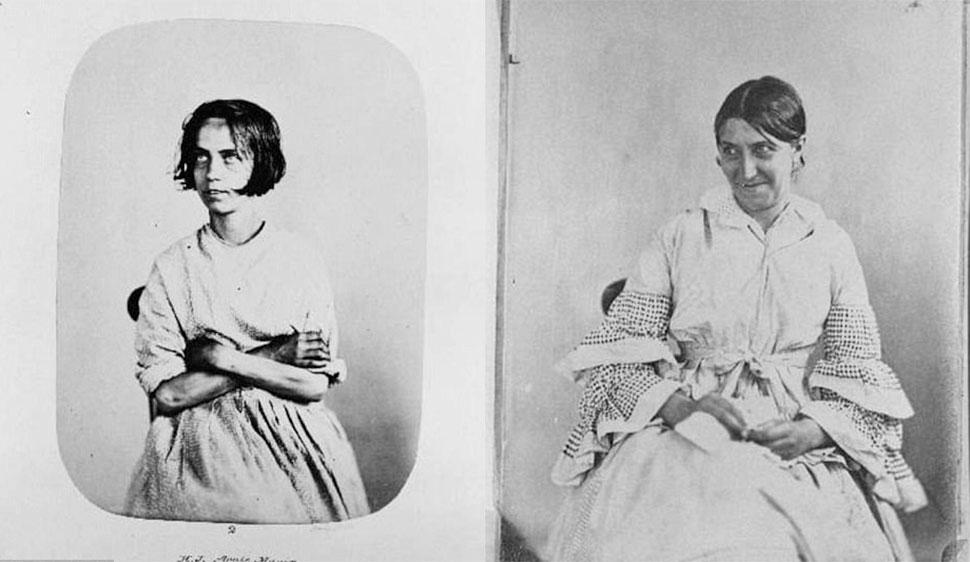 Портреты «проблемных девиц» — обитательниц Бедлама