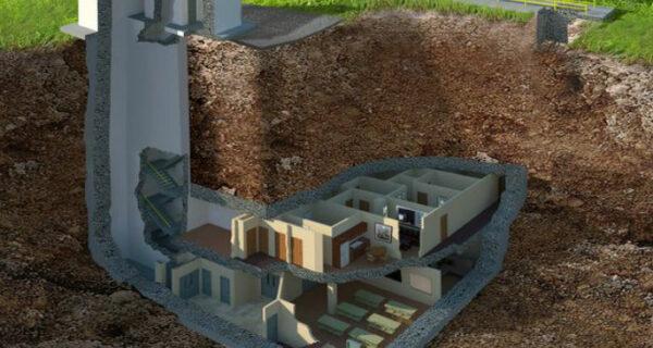 Уютный ядерный бункер, способный выдержать взрыв в 20 килотонн