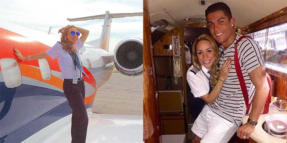 Instagram гламурной пилотессы, которая возит звезд первой величины