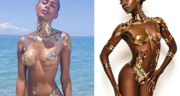 То ли в купальнике, то ли голая: видео с моделью на пляже запутало соцсети