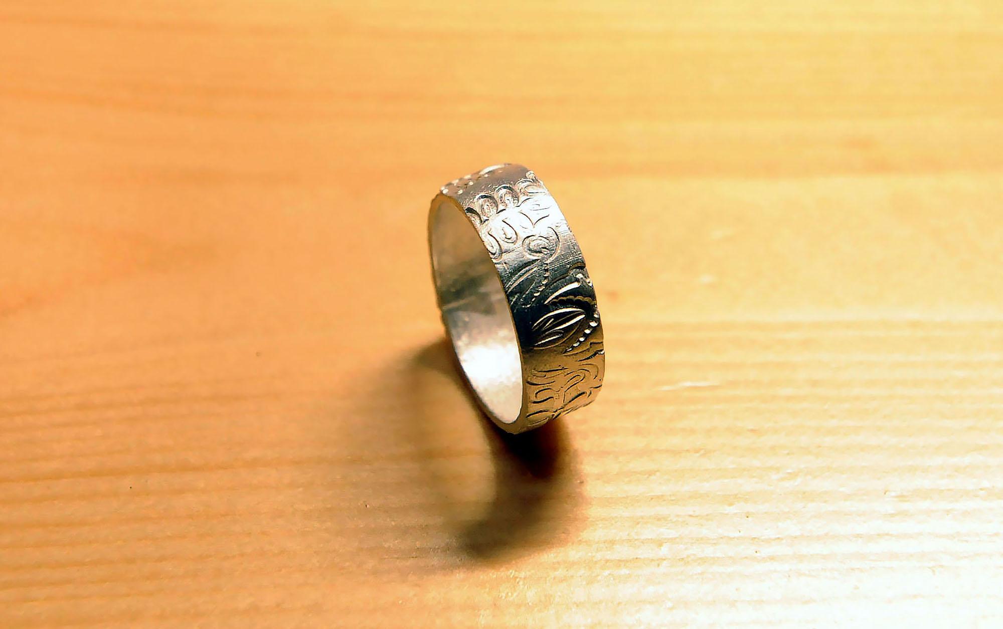 Как сделать кольцо своими руками мужские