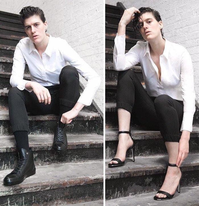 Девушка модель мужской одежды работа топ модели