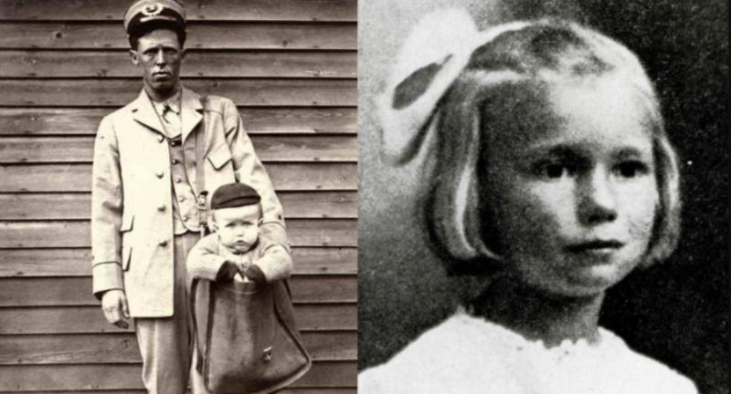 В США в начале ХХ века детей отправляли почтой по тарифу для кур
