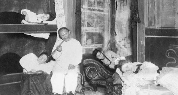 Сладкий дурман: фотографии опиумных притонов в США XXвека