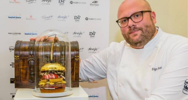 В Нидерландах создали самый дорогой в мире бургер ценой в 131 тысячу рублей