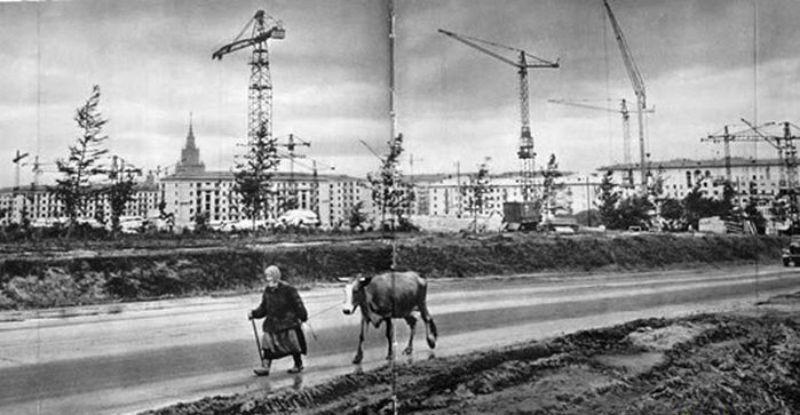 Когда Москва была большой деревней
