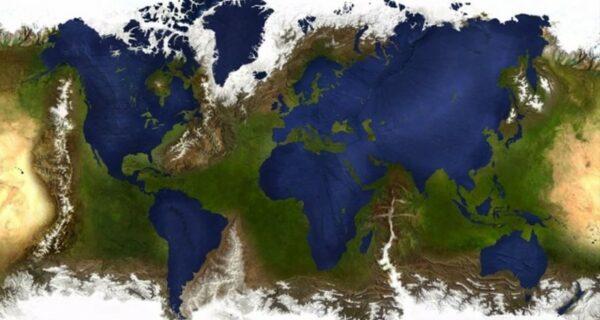 17 удивительных карт мира, которые нам не показывали вшколе