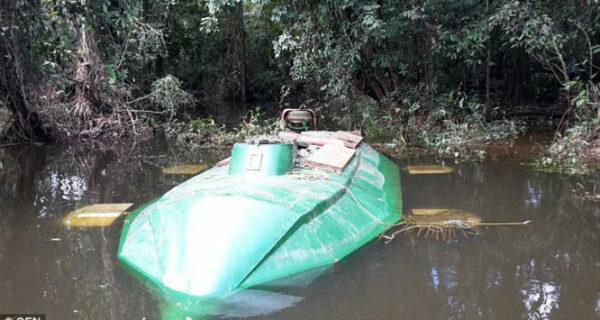 Субмарина для кокаина: в Колумбии обнаружили подлодку для перевозки наркотиков