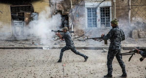 Убить или быть убитым: остросюжетные кадры антитеррористической операции вИраке